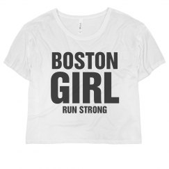 Boston girl run strong