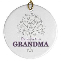 Blessed To Be A Grandma