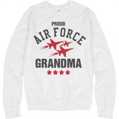 Proud Air Force Grandma