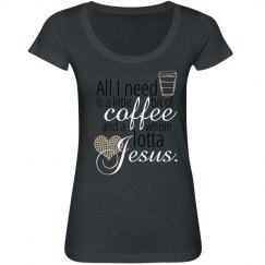 Coffee & Jesus Tee