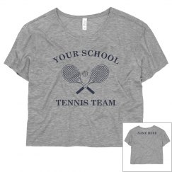 Custom Tennis Team