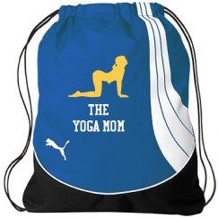 Yoga Mom Drawstring Bag