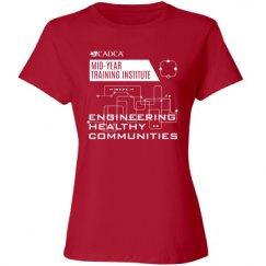 2017 MYTI Ladies T-shirt - Red