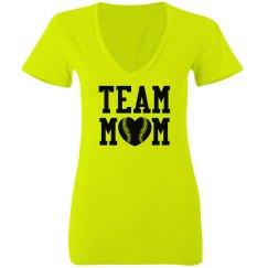 Neon Team Mom