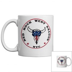 Red Rock West Saloon Coffee Cup