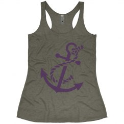 Anchor Razor Tank Grey