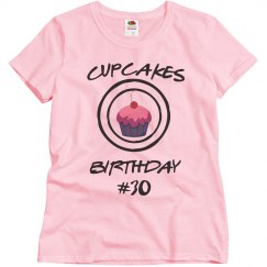 Cupcakes 30th birthday