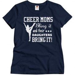 Cheer Mom's Bling