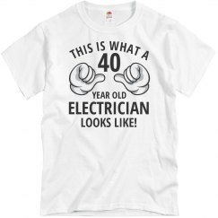 40 Year old electrician