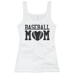 Sleeveless Baseball Mom Shirts