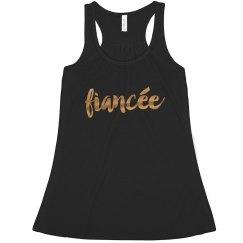 Metallic Fiancee Flowy