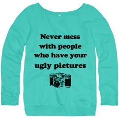 Ugly Pictures Sweater