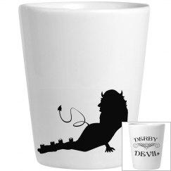 Derby Devil Shot Glass