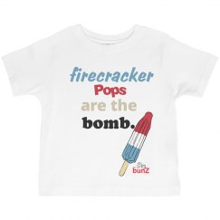 Toddler firecracker pop T
