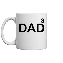 Dad To The Third Mug