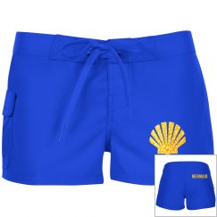 Mermaid Shell Shorts