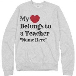 Belongs to a Teacher