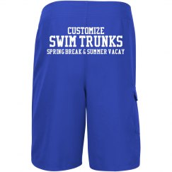 Custom Swim Trunks