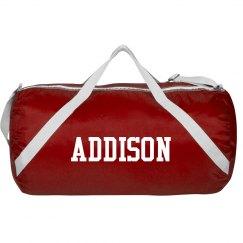 Custom sports roll bag