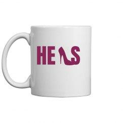 Her Shoe Mug