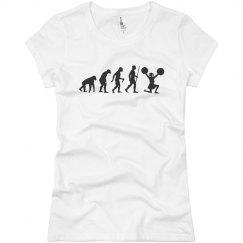 Evolution cheer shirt