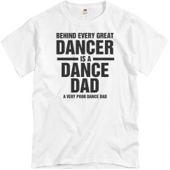 A Funny Yet Poor Dance Dad