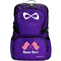 Color Guard Girl's Sparkly Backpack