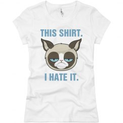 A Very Grumpy Cat Shirt