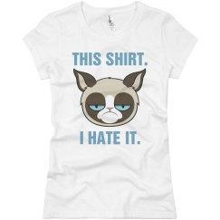 A Very Grumpy Cat Shirt