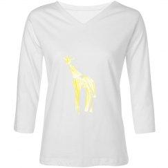 Giraffe of Light Top
