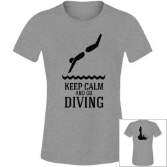 keep calm and go diving