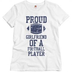 Proud Football Girlfriend