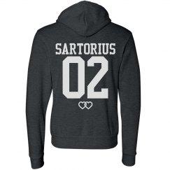 Team Jacob Sartorius Fashion Hoodie in Black