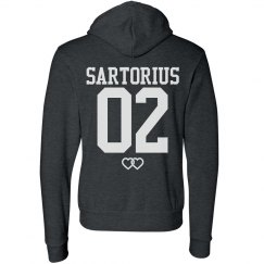Team Jacob Sartorius Fashion Hoodie in Black
