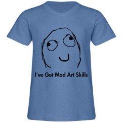Boys Mad Art Skills Tee