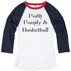 Faith family & basketball