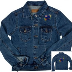 Australia Heart & Boomerang, Denim Jacket