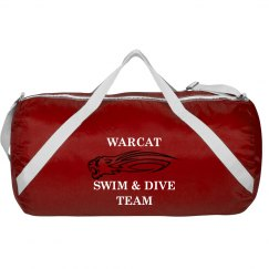 Warcat Swim Bag