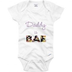 Daddy Is Bae Onesie