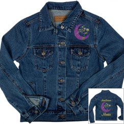 MoonDreams Music Gold & Purple Moon & Stars
