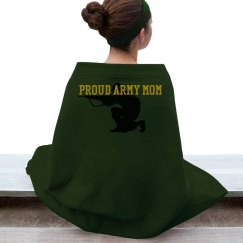Proud army mom blanket