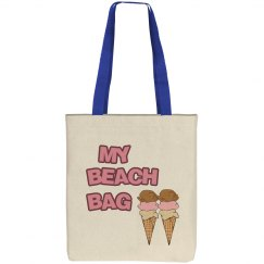 My Beach Tote Bag