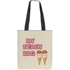 My Beach Tote Bag
