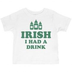 Irish Funny St Patricks Day Kid
