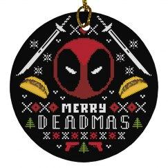 Merry Deadmas Xmas Ornament