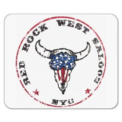 Red Rock West Saloon Mouse Pad