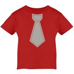 Scarlet & Grey Tie