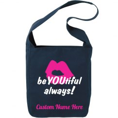 beYOUtiful always! Custom Name sling bag