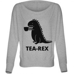 T-Rex Likes Tea