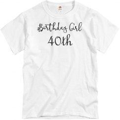 Birthday girls 40th